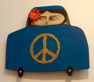 Robyn's Peace Car!