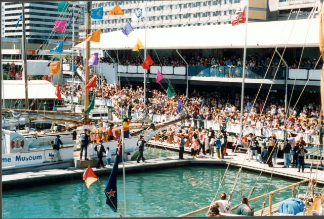 The Auckland Maritime Museum opening celebration (1993)