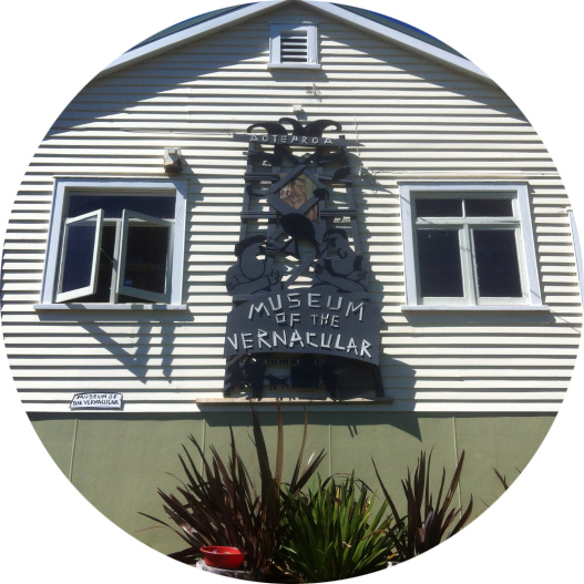 The Museum of the Vernacular at the foot of Mt Takarunga/Victoria on Kerr St in Devonport