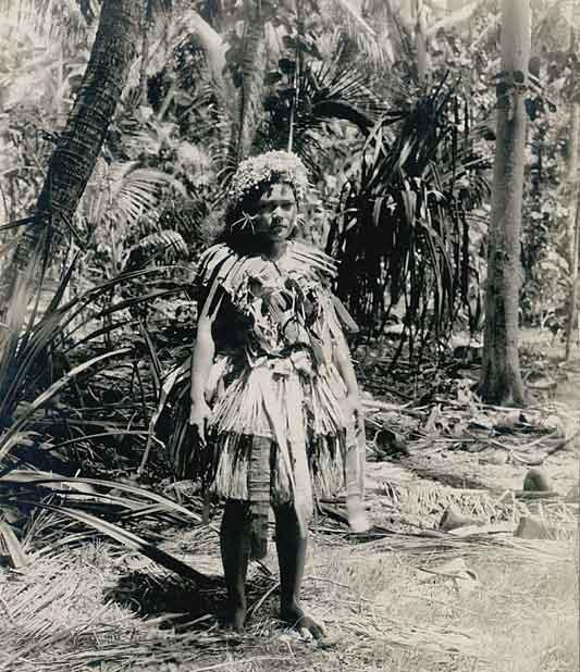 Woman on Funafuti, 1900,  Harold Clifford Fassett (Funafati is the main island of Tuvalu)