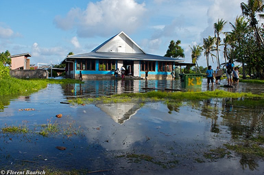 The king tides in Tuvalu | Photo Credit: Florent Baarsch All Rights Reserved