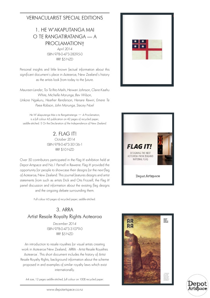 Depot Press catalogue 2015 page 3