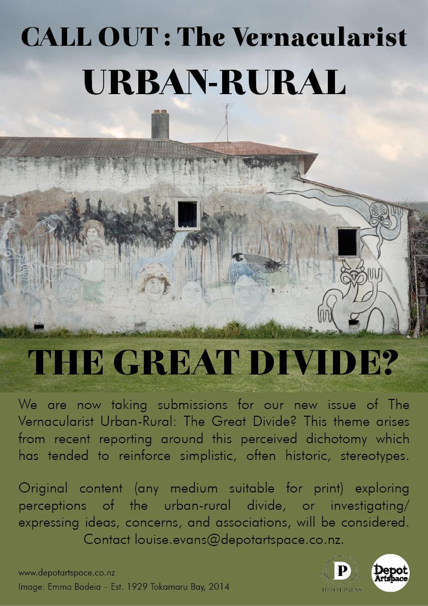 Call Out Vernacularist Urban Rural Poster LR